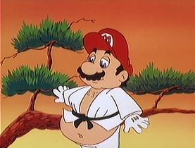 super mario bros super show toadstool