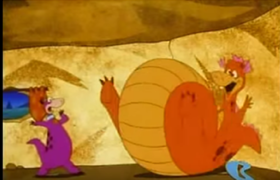 Dino in The Great Egg-Scape Weight Gain 6.png