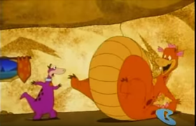 Dino in The Great Egg-Scape Weight Gain 7.png