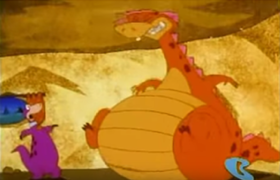 Dino in The Great Egg-Scape Weight Gain 10.png